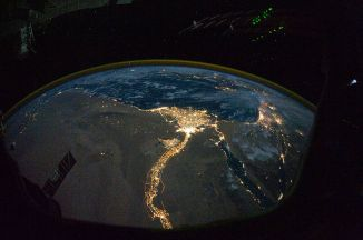 Nile_River_Delta_at_Night