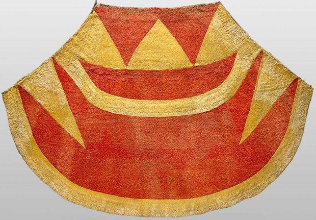 The_ahu_ula_(feathered_cloak)_of_Kalaniopuu_
